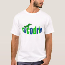 """Cajun Cocodrie (Alligator)/""""Lache pas la patate"""" T-Shirt"""