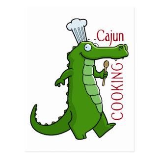 cajun_cooking postcard