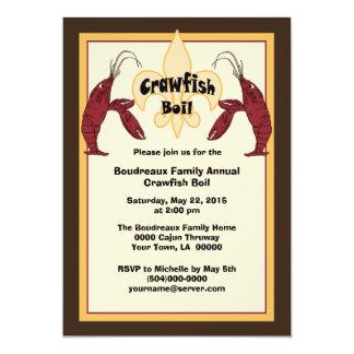 Cajun Crawfish Boil Invitations