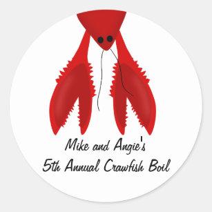 f4c12e78 Cajun Crawfish Boil Party Stickers