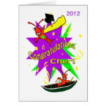 Cajun Crawfish Congratulations Cher Graduation Card