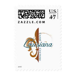 cajun culture stamp