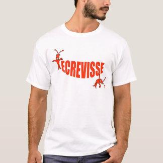 """Cajun Ecrevisse (Crawfish)/""""Lache pas la patate"""" T-Shirt"""