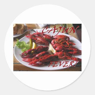 Cajun Fever! Classic Round Sticker