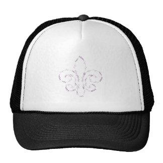cajun fleur-02 mesh hat