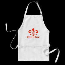 Cajun French Who Dat aprons