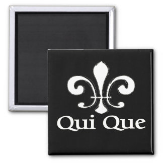 Cajun French Who Dat Refrigerator Magnet