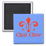 Cajun French Who Dat Refrigerator Magnets