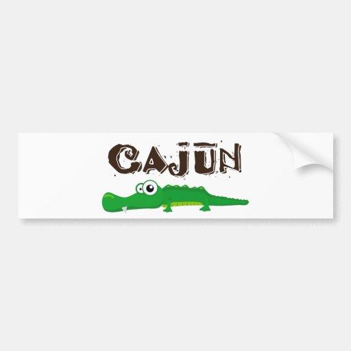 Cajun_gator Car Bumper Sticker