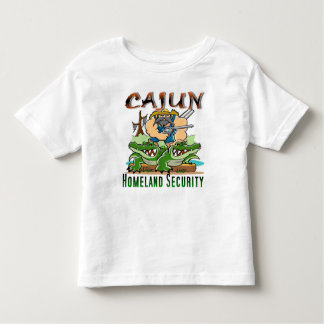 Cajun Homeland Security Toddler T-shirt