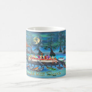 CAJUN LAST SUPPER COFFEE MUG