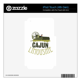 Cajun Limousine Skins For iPod Touch 4G