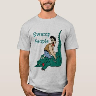 Cajun Massage, Alligator, Swamp People