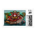 Cajun Postage Stamp