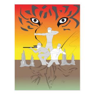 Cajun Pride aheee Postcard