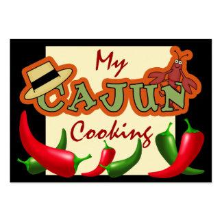 Cajun que cocina tarjetas por SRF Plantilla De Tarjeta Personal