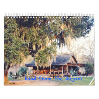 Cajun Recipes Cook Book Calendar
