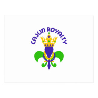 CAJUN ROYALTY POSTCARD