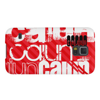 Cajun; Scarlet Red Stripes Case For Galaxy S5