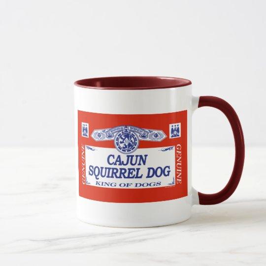 Cajun Squirrel Dog Mug
