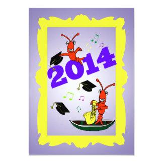 Cajun Themed Graduation 2014  Party Invitation