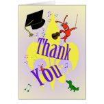 Cajun Themed Graduation Thank You Cards