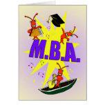 Cajun Themed M.B.A Congratulations Card