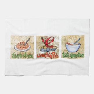 Cajun Trio Towel