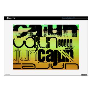 Cajun; Vibrant Green, Orange, & Yellow Laptop Skin