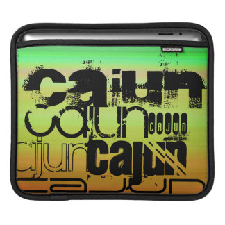 Cajun; Vibrant Green, Orange, & Yellow Sleeves For iPads