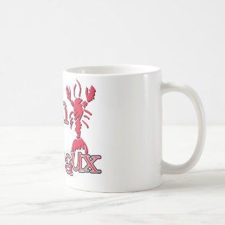 Cajun Wineaux crawfish red Coffee Mug