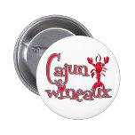 Cajun Wineaux crawfish red Pin