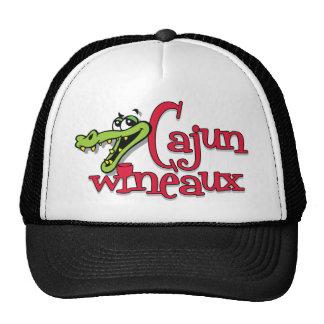 Cajun Wineaux gator Mesh Hat