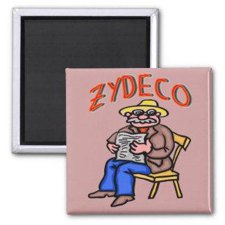 Cajun Zydeco Man Magnet
