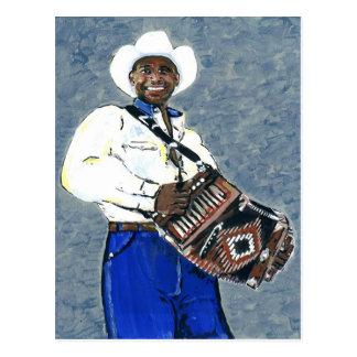 Cajun Zydeco Music Postcard