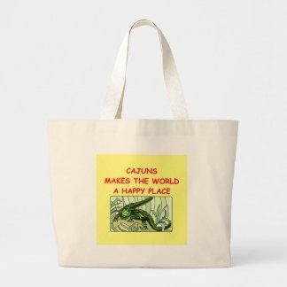 cajuns large tote bag