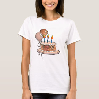 Cake-015 Apricot and Peach T-Shirt