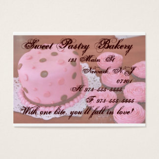 Cake and Cupcakes business cards