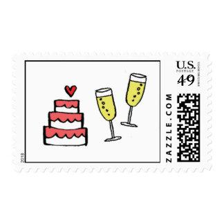 Cake and Wine Postage