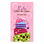 Cake Art Bakery Business Cards