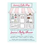 Cake Baby Shower Invitation