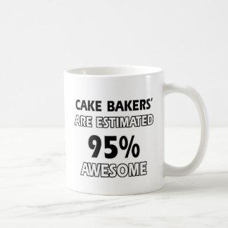 cake bake designs coffee mug