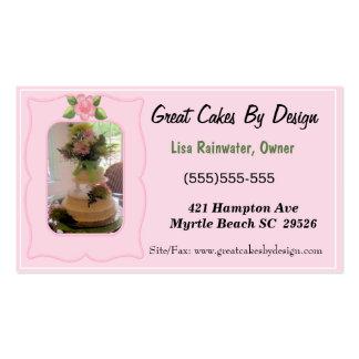 Cake Baker  Business Cards