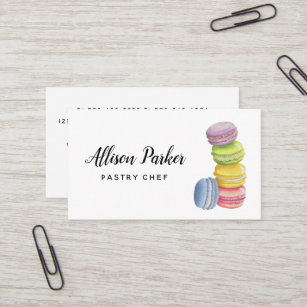 cake bakery business card - Bakery Business Cards
