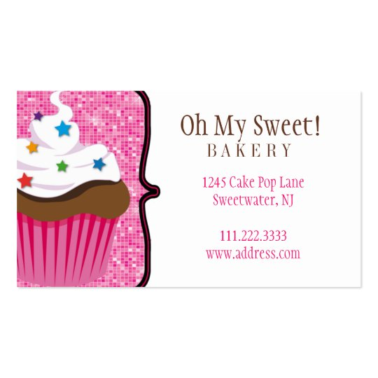 Cake Bakery : Business Card