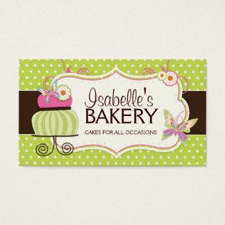 Cake Bakery Business Card