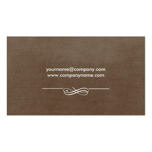 Cake Bakery Business Cards (back side)