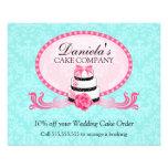 Cake Bakery Discount Voucher Full Color Flyer