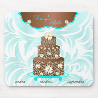 Cake Bakery Pastry Chef Daisy Chocolate Mouse Pad