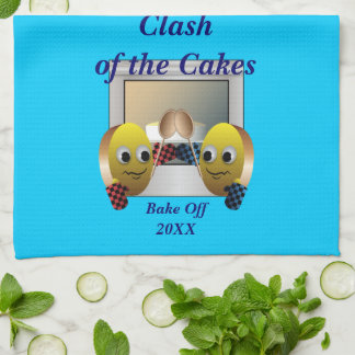 Cake Baking Contest Kitchen Towels